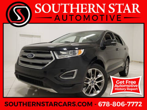 2015 Ford Edge for sale at Southern Star Automotive, Inc. in Duluth GA