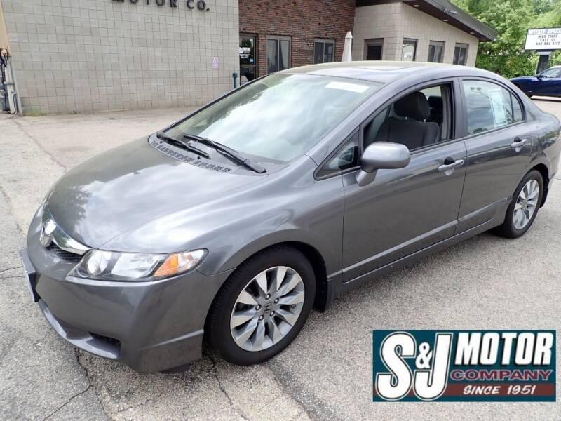 2010 Honda Civic for sale at S & J Motor Co Inc. in Merrimack NH
