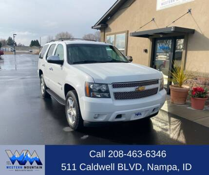 2008 Chevrolet Tahoe for sale at Western Mountain Bus & Auto Sales in Nampa ID