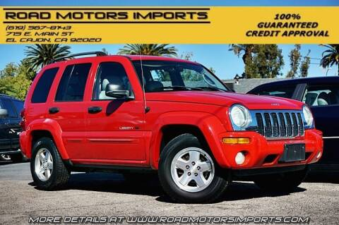 2003 Jeep Liberty for sale at Road Motors Imports in El Cajon CA