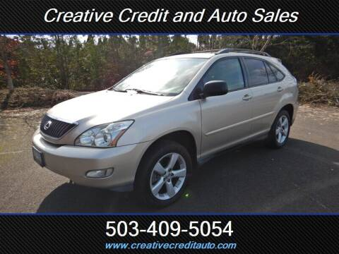 2005 Lexus RX 330 for sale at Creative Credit & Auto Sales in Salem OR