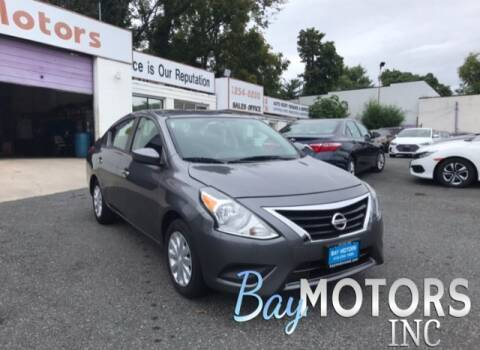 2017 Nissan Versa for sale at Bay Motors Inc in Baltimore MD
