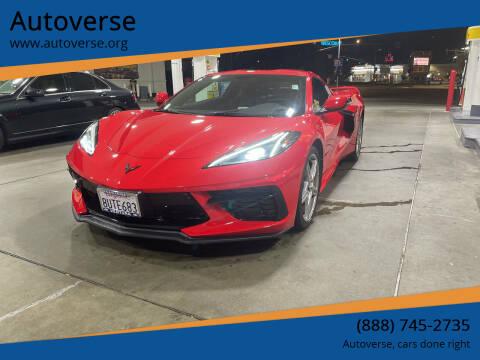 2020 Chevrolet Corvette for sale at Autoverse in La Habra CA