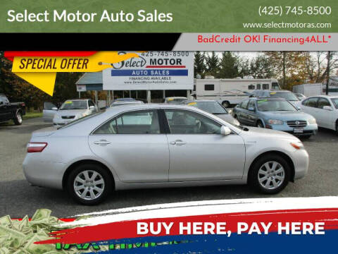 2008 Toyota Camry Hybrid for sale at Select Motor Auto Sales in Lynnwood WA