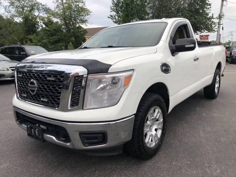 2017 Nissan Titan for sale at RT28 Motors in North Reading MA