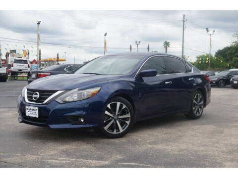 2016 Nissan Altima for sale at Maroney Auto Sales in Humble TX