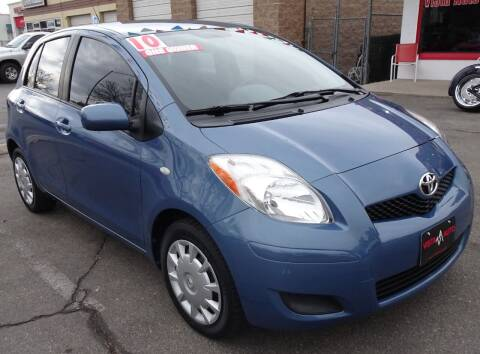 2010 Toyota Yaris for sale at VISTA AUTO SALES in Longmont CO