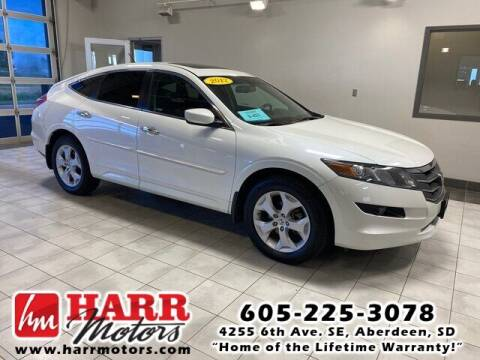 2012 Honda Crosstour for sale at Harr Motors Bargain Center in Aberdeen SD