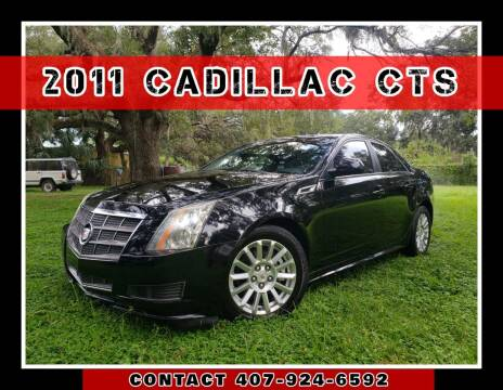 2011 Cadillac CTS for sale at AFFORDABLE ONE LLC in Orlando FL