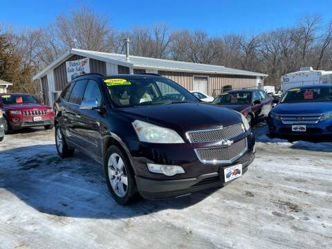 2009 Chevrolet Traverse for sale at Victor's Auto Sales Inc. in Indianola IA