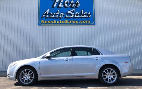 2012 Chevrolet Malibu for sale at NESS AUTO SALES in West Fargo ND