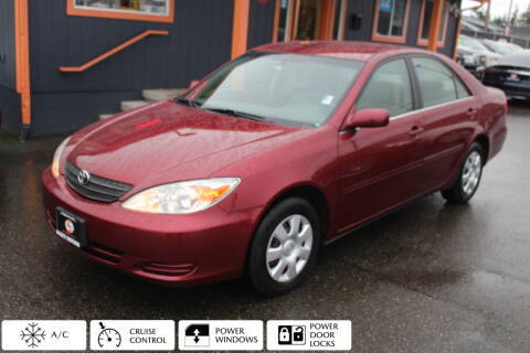 2002 Toyota Camry for sale at Sabeti Motors in Tacoma WA
