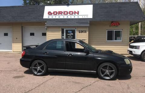 2004 Subaru Impreza for sale at Gordon Auto Sales LLC in Sioux City IA