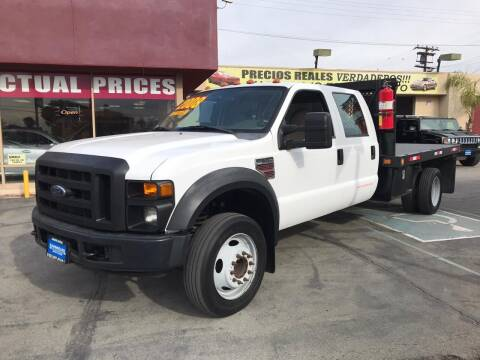 2008 Ford F-550 Super Duty for sale at Sanmiguel Motors in South Gate CA