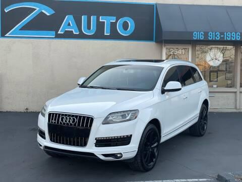 2011 Audi Q7 for sale at Z Auto in Sacramento CA