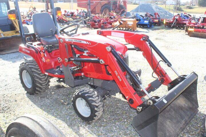 2016 Massey Ferguson GC1705 for sale at Vehicle Network - Joe's Tractor Sales in Thomasville NC