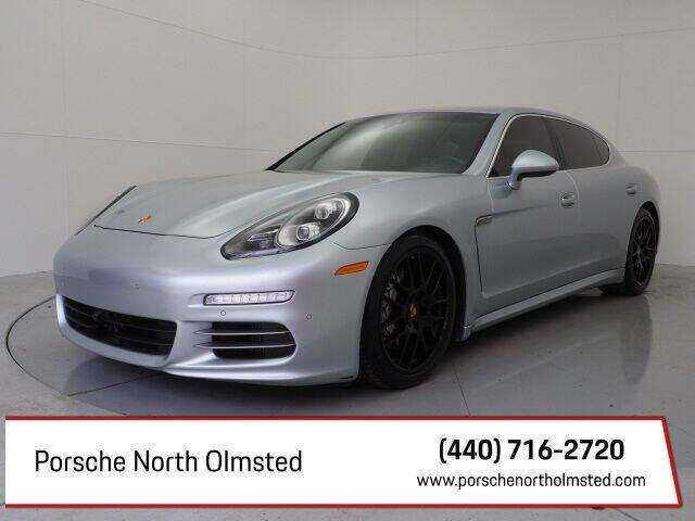 2014 Porsche Panamera for sale at Porsche North Olmsted in North Olmsted OH