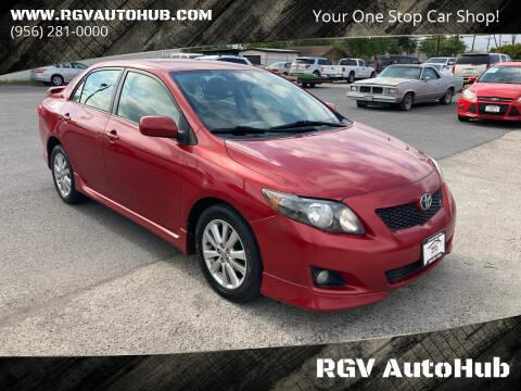 2010 Toyota Corolla for sale at RGV AutoHub in Harlingen TX