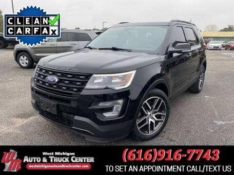 2017 Ford Explorer for sale at West Michigan Auto and Truck Center in Cedar Springs MI