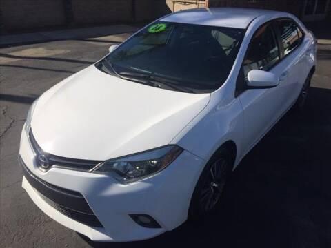 2016 Toyota Corolla for sale at Corona Auto Wholesale in Corona CA
