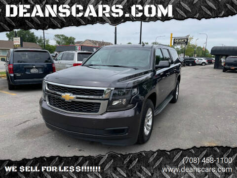 2015 Chevrolet Suburban for sale at DEANSCARS.COM in Bridgeview IL