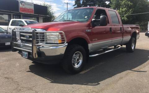 2003 Ford F-350 Super Duty for sale at Universal Auto INC in Salem OR