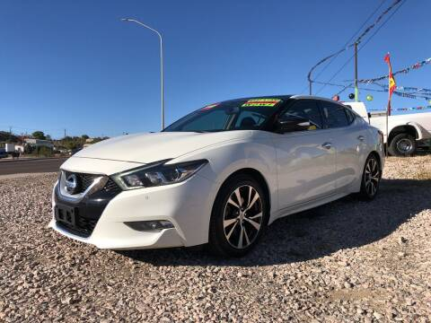 2016 Nissan Maxima for sale at 1st Quality Motors LLC in Gallup NM