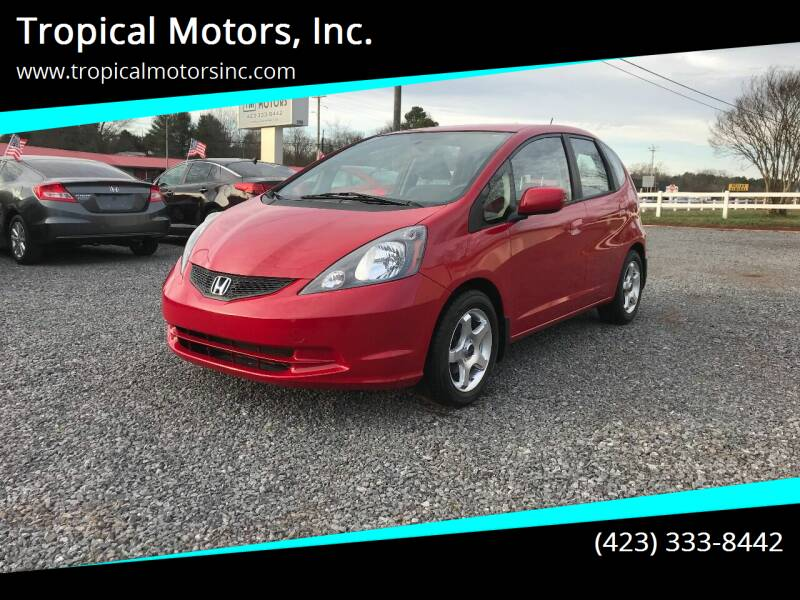 2013 Honda Fit for sale at Tropical Motors, Inc. in Riceville TN
