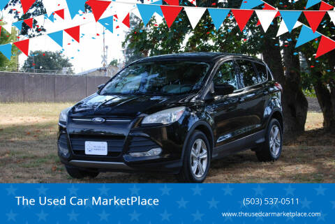 2013 Ford Escape for sale at The Used Car MarketPlace in Newberg OR