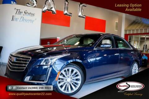 2019 Cadillac CTS for sale at Quality Auto Center in Springfield NJ