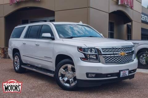 2018 Chevrolet Suburban for sale at Mcandrew Motors in Arlington TX