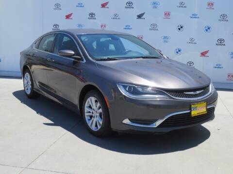 2015 Chrysler 200 for sale at Cars Unlimited of Santa Ana in Santa Ana CA