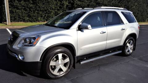2011 GMC Acadia for sale at memar auto sales, inc. in Marietta GA