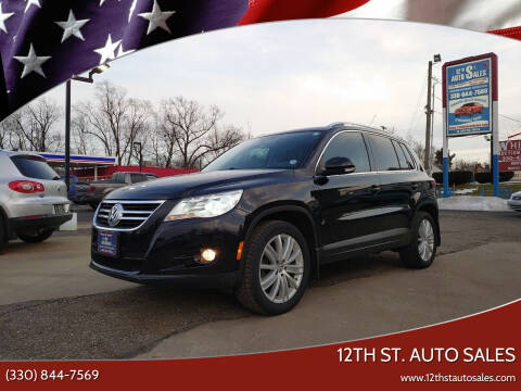 2011 Volkswagen Tiguan for sale at 12th St. Auto Sales in Canton OH