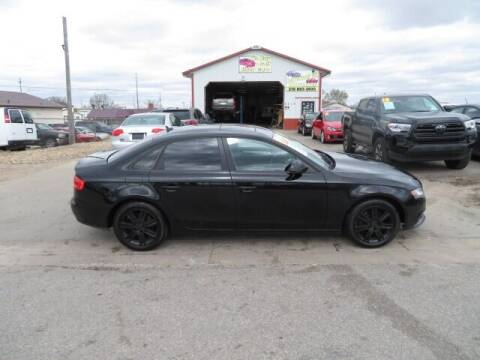 2009 Audi A4 for sale at Jefferson St Motors in Waterloo IA