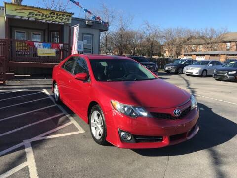 2014 Toyota Camry for sale at Auto Solution in San Antonio TX