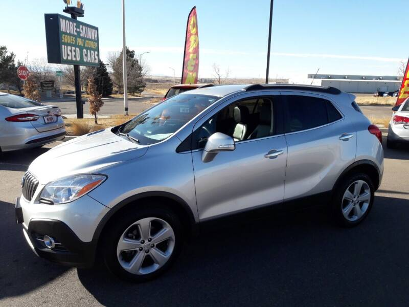 2015 Buick Encore for sale at More-Skinny Used Cars in Pueblo CO