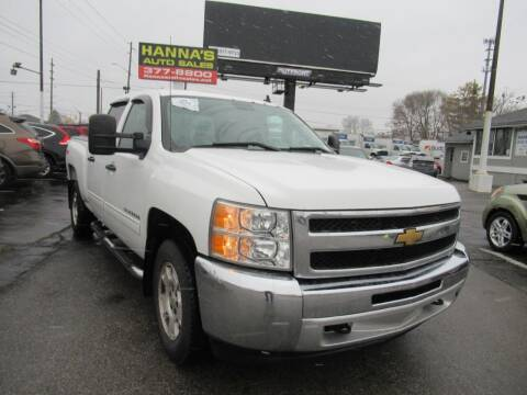 2012 Chevrolet Silverado 1500 for sale at Hanna's Auto Sales in Indianapolis IN