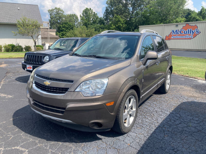 2014 Chevrolet Captiva Sport for sale at McCully's Automotive - Under $10,000 in Benton KY