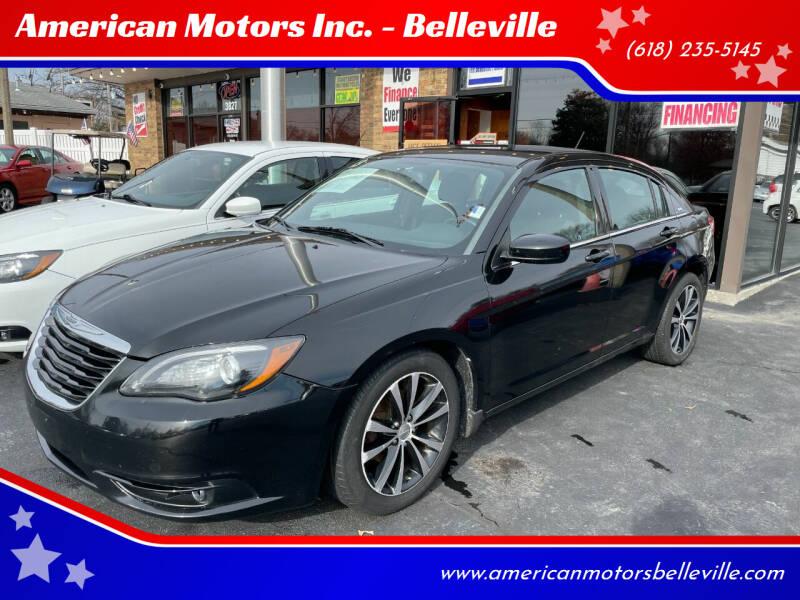 2013 Chrysler 200 for sale at American Motors Inc. - Belleville in Belleville IL