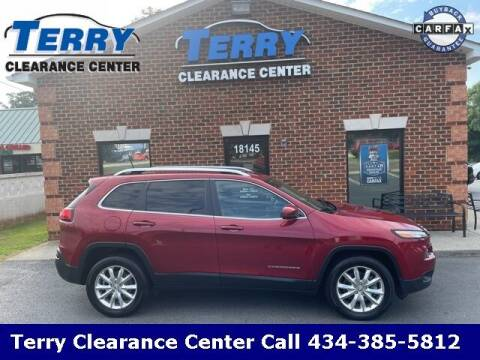 2016 Jeep Cherokee for sale at Terry Clearance Center in Lynchburg VA