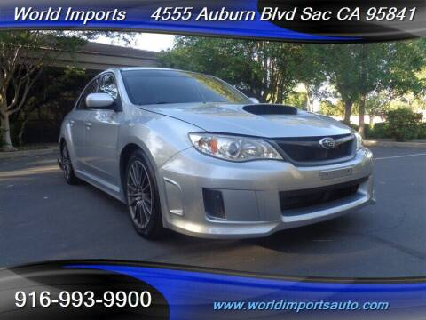 2013 Subaru Impreza for sale at World Imports in Sacramento CA