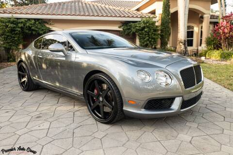 2013 Bentley Continental for sale at Premier Auto Group of South Florida in Wellington FL