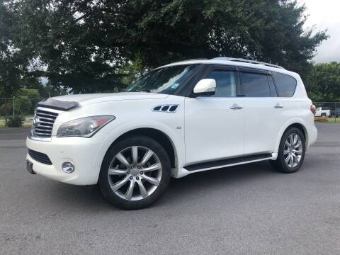 2014 Infiniti QX80 for sale at Callahan Motor Co. in Benton AR