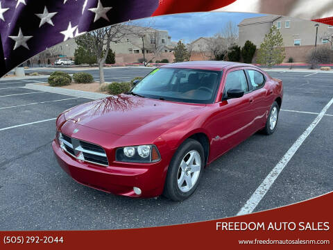 2009 Dodge Charger for sale at Freedom Auto Sales in Albuquerque NM