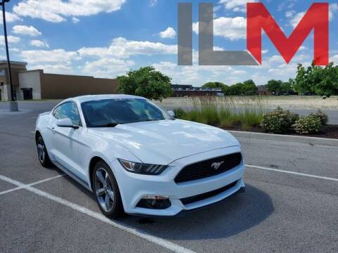 2016 Ford Mustang for sale at INDY LUXURY MOTORSPORTS in Fishers IN