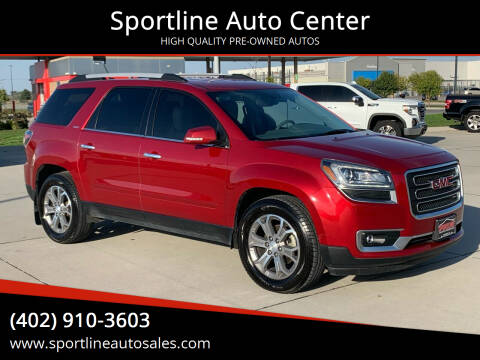 2014 GMC Acadia for sale at Sportline Auto Center in Columbus NE