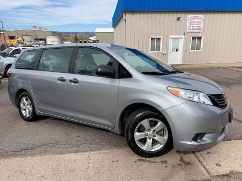2015 Toyota Sienna for sale at Cherry Motors in Castle Rock CO