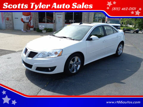 2010 Pontiac G6 for sale at Scotts Tyler Auto Sales in Wilmington IL
