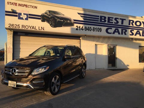 2018 Mercedes-Benz GLE for sale at Best Royal Car Sales in Dallas TX